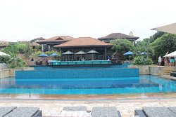 Yoba - Mexican Restaurant, poolbar and lovely swimming pool.
