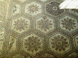 Floor mosaic The Punishment of Dirce