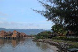 A tranquil resort