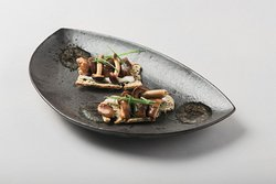 Tarta de algas con setas de temporada (2)