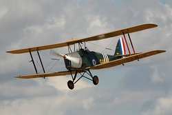 Choose from an hour long flight or a short sortie around the airfield!