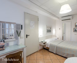 The Double Room with Sea View at the Hotel Sirenetta
