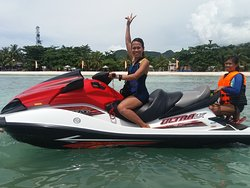 Do you feel the need for speed.  Riding a jet ski is an exciting and thrilling experience.