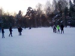 Ice Skating Rink in Akademgorodok