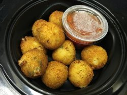 To-Go order: Parmesan Zucchini Bites - Great!
