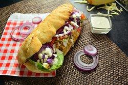Barbecue Chicken sandvich (Food House Restaurant Mostar )
