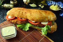Veggie Sandwich  (Food House Restaurant Mostar )