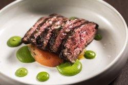 Seared bavette of beef