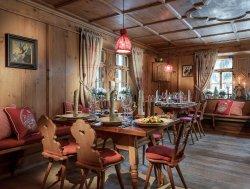Die Stube im Hotel Arlberg
