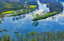 Yueliang Bay of Wuyuan