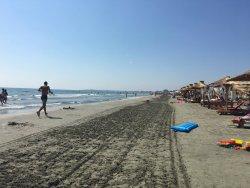 few days on the beach