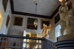 Schody w pałacu.