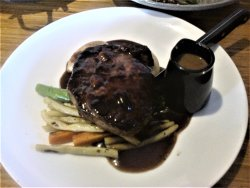 Scotch Fillet Steak with Vegetables - Quite Expensive, but it was nice. [December 2017]