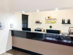 Reception at The Leeton Heritage Motor Inn
