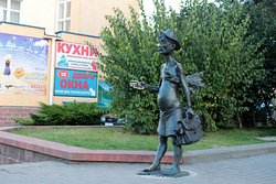 Sculpture of Bathers Vasya