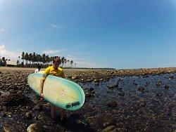 Surfing West Bali