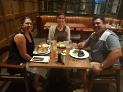 Family dinner outing tamworth holiday 2018