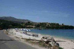 avlaki beach (approximatelt 1 km from Emily's Apartments)