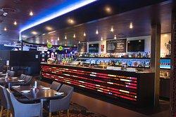 Modern lounge bar