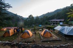 Camping at Kosi Valley Retreat during