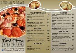 Tore Pizza