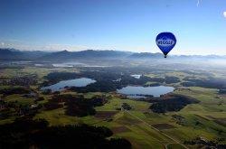 Chiemseeballooning - Ballonfahrt am Chiemsee