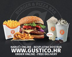 Gustico Burger & Pizza Bar