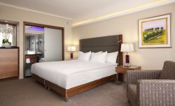 King Room - located on floors 3-12, offering a private balcony with Mediterranean Sea view.