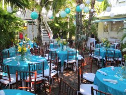 Our versatile garden space offers the perfect venue for an intimate Key West wedding.