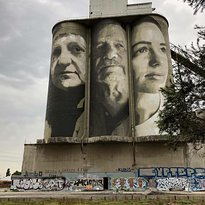 Fyansford Silo Art