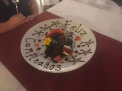 Superb meal on Friday 5 January 2018 for my son's 10th birthday