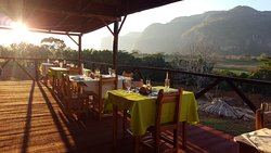 Agroecological Sunset Restaurant