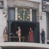 Galerias Palladium Clock