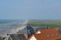 Blick vom Leuchtturm Ault nach Cayeux sur mer