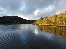 View of the Loch near Castle Tioram