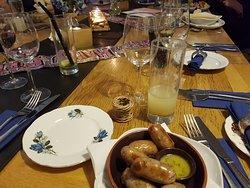 Good food and nice surroundings