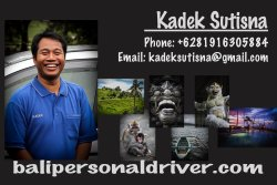 Bali Personal Driver - Day Tours