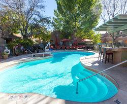 The Pool at the La Posada de Santa Fe, a Tribute Portfolio Resort & Spa