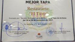 Bar Restaurante Tiora