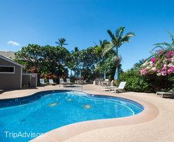 The Garden Pool at the Wailea Grand Champions Villas