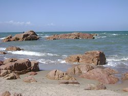 Playa Piedras Coloradas