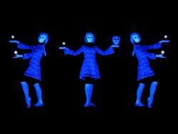 HILT black light theatre - Divadlo u Valsu