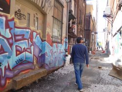 Strong Alley (Graffiti Alley)