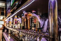 50 Beer Choices on Tap