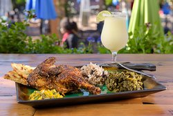 Jamaican Jerk Half Chicken