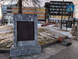 Memorial to Deportation of Jews of Tromso