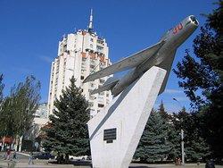 Mig-19 Monument