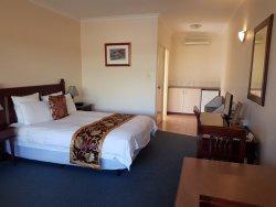 Clean pleasant rooms