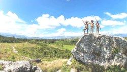 Dani Tribesman in Baliem Valley