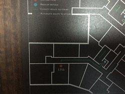 """a """"corner"""" room per hotel front desk staff"""